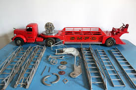 VINTAGE 1950'S SMITH Miller Smitty Toys No. 3 Metal Aerial Fire ... Kdw Diecast 150 Water Fire Engine Car Truck Toys For Kids Playing With A Tonka 1999 Toy Fire Engine Brigage Truck Ladders Vintage 1972 Tonka Aerial Photo Charlie R Claywell Buy Metal Cstruction At Bebabo European Toys Only 148 Red Sliding Alloy Babeezworld Nylint Collectors Weekly Toy Pinterest Antique Style 15 In Finish Emob Classic Die Cast Pull Back With Tin Isolated On White Stock Image Of Handmade Hand Painted Fire Truck