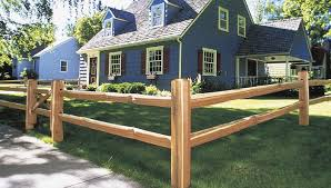 Install A Split Rail Fence