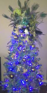 Unlit Christmas Trees Sears by 86 Best Peacock Christmas Ideas Images On Pinterest Christmas
