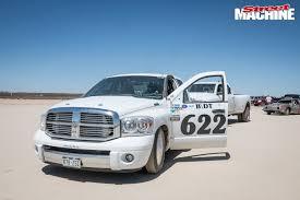 100 1963 Dodge Truck 1115HP DODGE RAM PICKUP SETS CLASS LAND SPEED RECORD AT EL MIRAGE