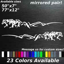 Running Horses Graphic Decal Sticker Truck Trailer Stampede Pony ... Luxury Horse Decals For Car Windows Northstarpilatescom 52017 Ford Mustang Pony Steed Outline Side Stripes Decal Head Trucks Etsy Barrel Racing Rodeo Trailer Vinyl Window Laptop Ride More Worry Less Sticker 2 X Forward Running Horse Decals Awesome Graphics Custom Made Magnetic Signs Reflective Horses Cowboy Mountains Scenery Decal Decals Graphics 82 At Superb Graphics We Specialize In Decalsgraphics And