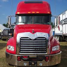 100 Mack Truck Accessories City Chrome Parts Vision Bug Side Grill Deflector