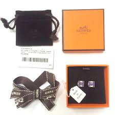 Order Hermes H Cube Earrings Price 216aa 11e26