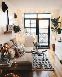 Brown Carpet Living Room Ideas by Bohemian Style House Decorating Grey Tile Ceramic Flooring Black