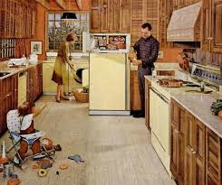 1960s Kitchens From Jet Age To Funkadelic