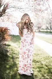 mindi cream floral maxi dress sunday dress spring dresses and