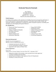 Resume Examples For College Students With Little Experience Oyle Intended Work