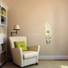 diy 6x abnehmbare adhesive 3d feder spiegelwand schlafzimmer