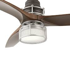 Allen Roth Victoria Harbor Ceiling Fan Manual by Kichler Lighting 54 In Satin Natural Bronze With Brushed Nickel
