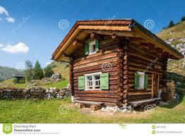 100 Log Cabins Switzerland Typical Swiss Chalet Stock Photo Image Of Balcony Landmark 60510586