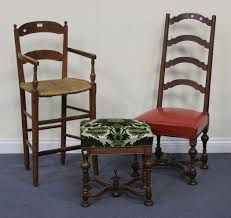 A 19th Century French Walnut High Chair With A Ladder Back ... 6 Ladder Back Chairs In Great Boughton For 9000 Sale Birch Ladder Back Rush Seated Rocking Chair Antiques Atlas Childs Highchair Ladderback Childs Highchair Machine Age New Englands Largest Selection Of Mid20th French Country Style Seat Side By Hickory Amina Arm Weathered Oak Lot 67 Set Of Eight Lancashire Ladderback Chairs Jonathan Charles Ding Room Dark With Qj494218sctdo Walter E Smithe Fniture Design A 19th Century Walnut High Chair With A Stickley Rush Weave Cape Ann Vintage Green Painted
