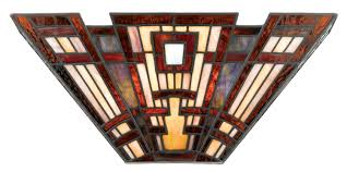 frank lloyd wright wall sconces craftsman candle rustic mission