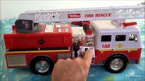 100 Tonka Fire Rescue Truck Mighty Motorized Vehicle Engine 05329 YouTube