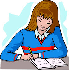 Clipart Student Writing clipartsgram