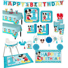 1st Birthday Mickey Mouse Deluxe Party Kit For 32 Guests   Party City Buy 1st Birthday Boy Decorations Kit Beautiful Colors For Girl First Gifts Baby Hallmark Watsons Party Holy City Chic Interior Landing Page Html Template Pirate Shark High Chair Decoration Amazoncom Glitter Photo Garland Pink Toys Games Mickey Mouse Decorating Turning One Flag Banner To And Gold