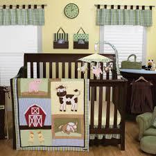 Trend Lab Baby Barnyard 4 Piece Crib Bedding Set Babies