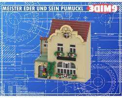 lego moc meister eder und sein pumuckl by 3dim9