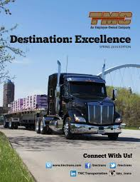 100 Tmc Trucking Training Destination Excellence Spring 2016 Edition By TMC Transportation