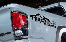 Product: 2 TRD Toyota Tacoma Tundra Decals Vinyl Sticker Off Road ... Product 4x4 Fx4 Truck Bed Decals For Ford F150 And Super Duty Stripe Usmc Marines Semper Fidelis Stickers Etsy Rode Rip Mudslinger Side 4x4 Rally Xspx Package Vinyl Decal Bedside Fits Toyota Tundra Set Of 3 Predator 2 Fseries Raptor Rebel Edition Shotgun Trucks 082017 Freedom Ar15 Dodge 092014 Style Rear Metal Militia Skull Circle Window X22 2018 For Any Color Pickup