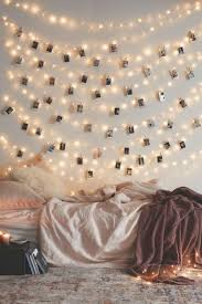 String Lights With Polaroids