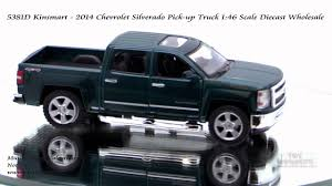 100 Chevy Toy Trucks 5381D Kinsmart 2014 Chevrolet Silverado Pick Up Truck 146 Scale