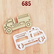 Fire Truck Cookie Cutter Fire Truck Party Fire Truck Birthday Fire ...
