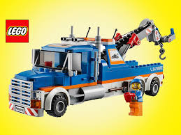 Lego City Tow Truck 60056 - Unboxing Demo Review - YouTube