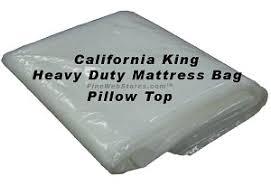 King Size Heavy Duty Plastic Mattress Bag