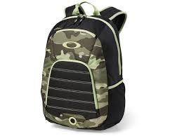oakley 4 on the floor backpack polyester olive camo mpn 92791a 799