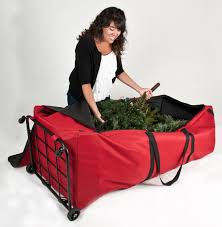 Upright Christmas Tree Storage Bag by Santa U0027s Bags Premium Christmas Tree Dolly Storage Bag Holiday