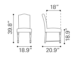 standard dining room chair dimensions alliancemv com