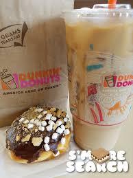 Pumpkin Iced Coffee Dunkin Donuts 2017 by S U0027more Search U2014 Dunkin U0027 Donuts Added S U0027mores Donuts And Iced