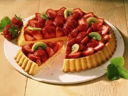 erdbeer kiwi kuchen