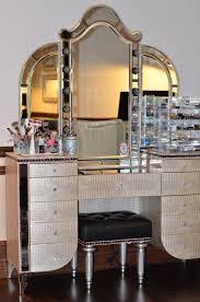 Bathroom Makeup Vanity Sets by Gold Makeup Vanity Table Furniture Of America 3 Pc Colleen