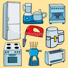 Kitchen Appliances Clipart 1