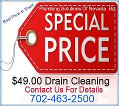 FREE Estimates Plumbing Serving the Entire Las Vegas Valley