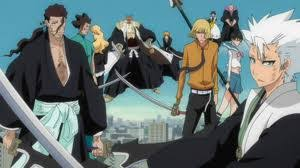 Bleach 14 1 Captains And Visored