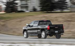 2018 GMC Sierra 2500HD / 3500HD   Fuel Economy Review   Car And Driver 261 2013 Gmc Sierra 1500 Denali 62l Pearl 2500hd 66 Duramax Review And Exhaust Youtube 2014 Charting The Changes Truck Trend Top Speed Snowy Muddy Offroad Palmer All Vehicles For Sale Grand Rapids Used 2500 4x4 Crew Cab Z71 Crewshortdenali 420 Hp Is Most Of Any Standard Pickup Pickup Vehie White Diamond Tricoat Awd