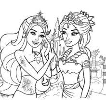 Barbie Coloring Pages Superb Online