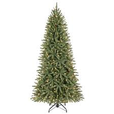 65 Ft Christmas Tree by 6 5 Ft Pre Lit Walden Pine Artificial Christmas Tree With White
