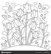 Coloriage Tulipes Coloriages à Imprimer Gratuits