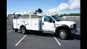 2007 FORD F-550 MECHANICS TRUCK UTILITY SERVICE CRANE LIFTGATE FOR ...