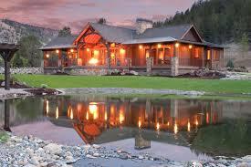 Keystone Ranch Home Brasada Style Homes Rustic Exterior