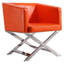 Ceets Hollywood Lounge Accent Chair Orange   Products In ...