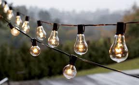 outdoor patio string lights globe patio furniture