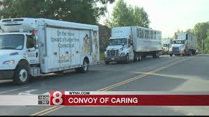 Convoy Of Caring Hits The Road To Feed Hungry In The State