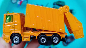 100 Garbage Truck Kids Cars For Toys Review And Learning Name And Sounds Police Car