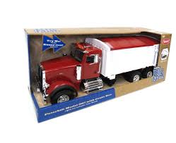 Tomy Peterbilt 367 Straight Dump Truck Toy Grain Box/Big Farm Series ...