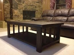 Modified Rustic X Coffee Table