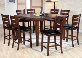 Cherry Wood Counter Height Dining Set